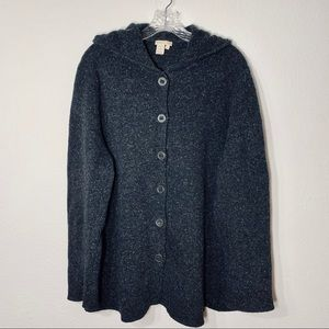 The Territory Ahead Lambs Wool Cardigan Sweater XL